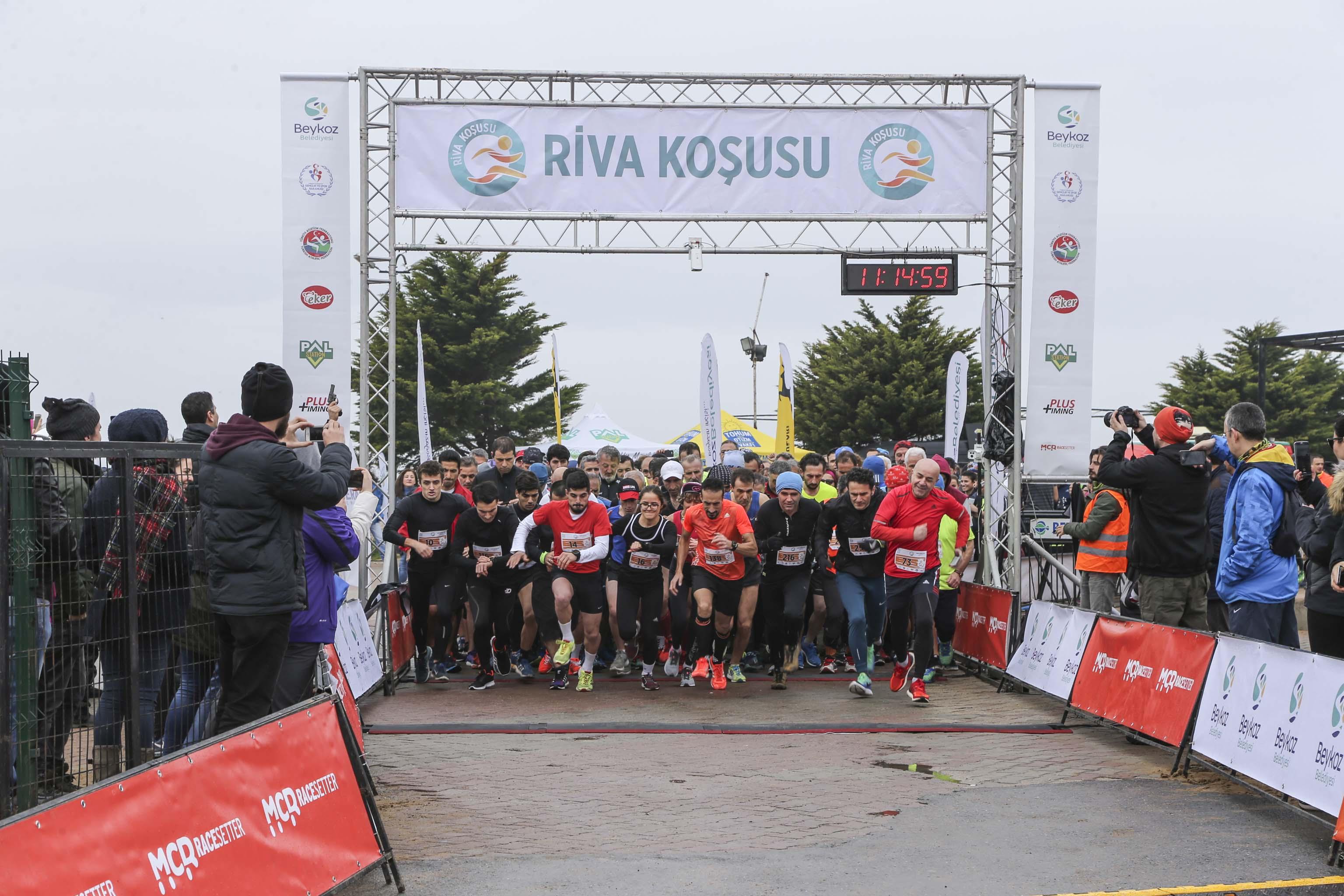 Türkiye'nin En Manzaralı Koşusu Riva'da Başlıyor