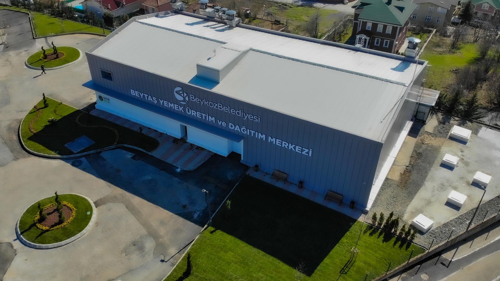 Beytaş Yemek Üretim Ve Dağıtım Merkezi'nde Lezzet Üretimi Başladı