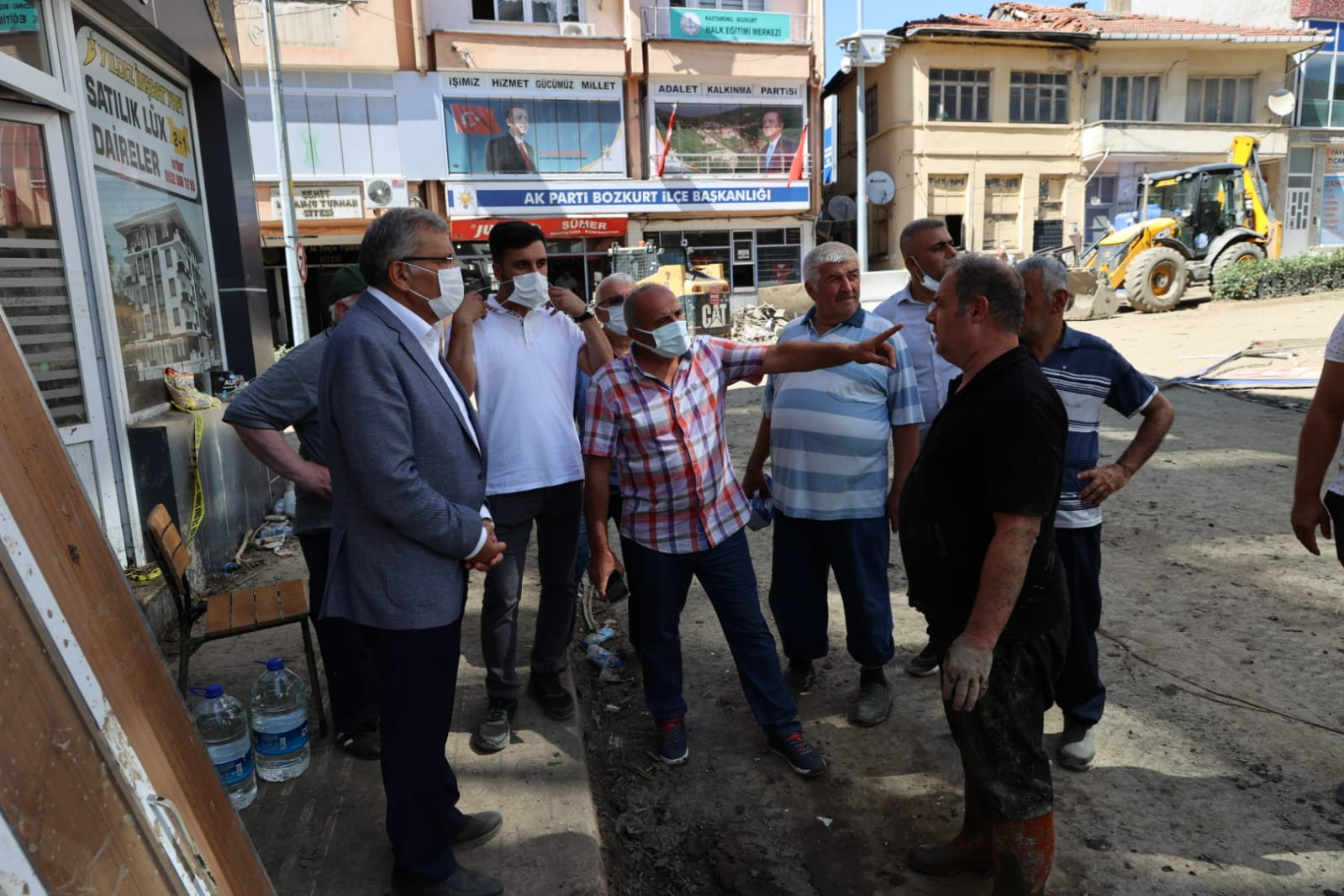 Başkan Murat Aydın Selin Vurduğu Bozkurt'ta