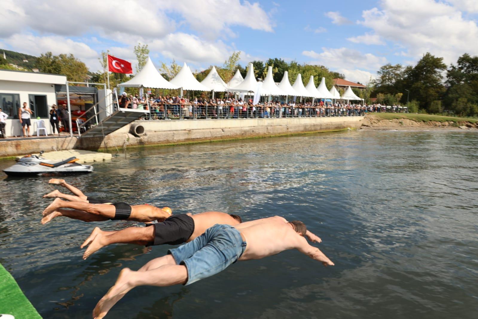Beykoz Sahili Su Sporları Festivali'yle Renklendi