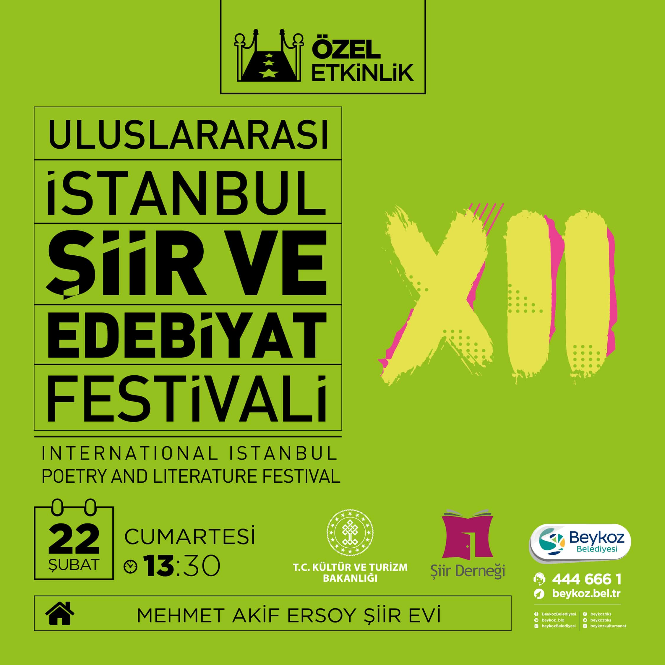 ULUSLARARASI İSTANBUL ŞİİR VE EDEBİYAT FESTİVALİ