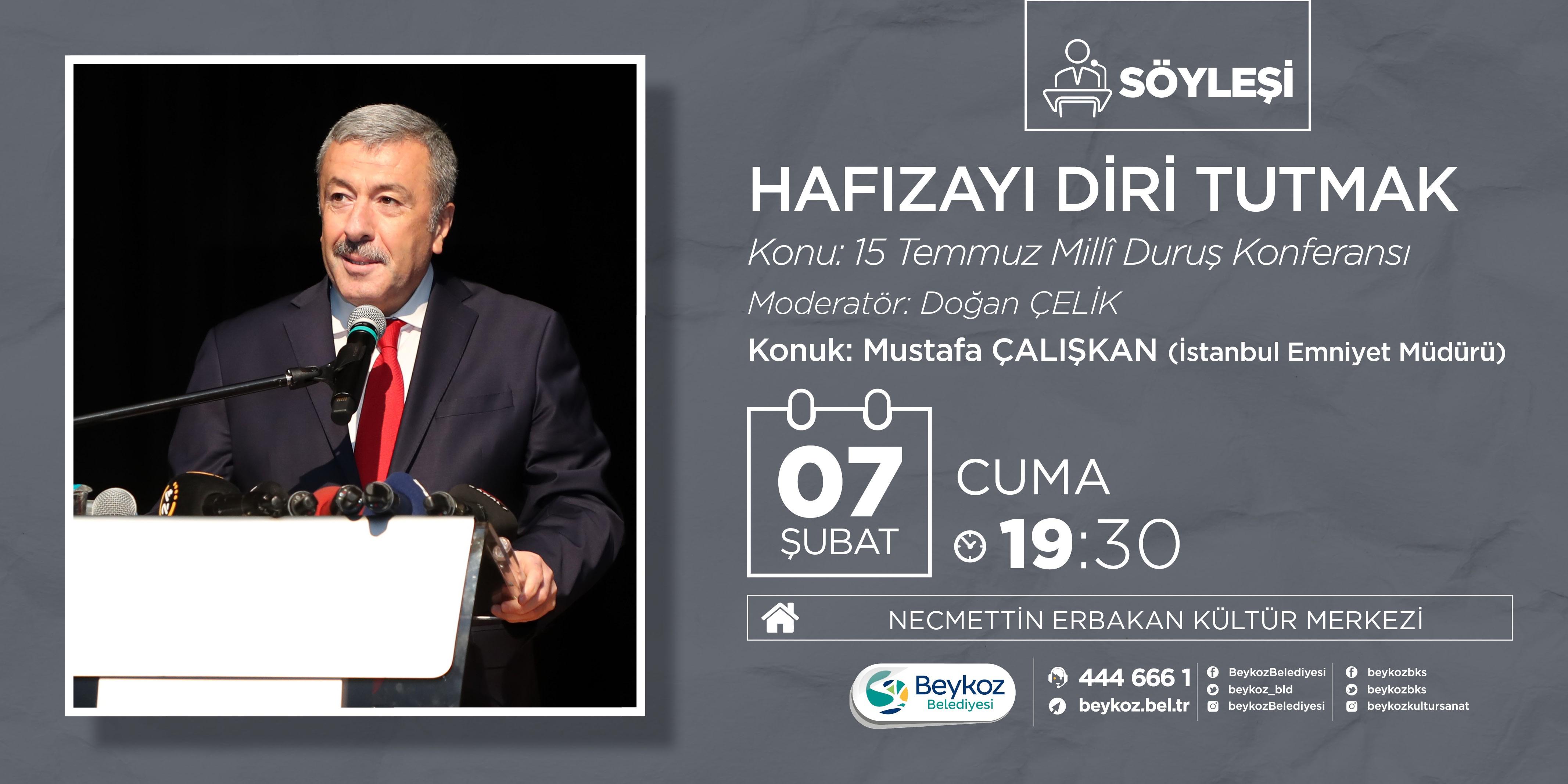 15 Temmuz Hafızası Mustafa Çalışkan'la Aydınlanıyor