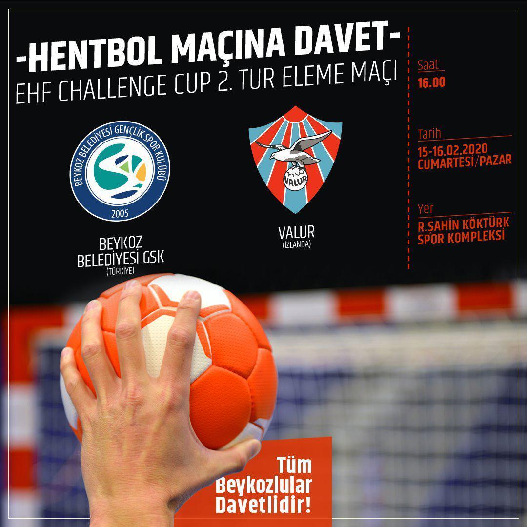 Beykoz Avrupa Kupası'nda Zafer İçin Sahada