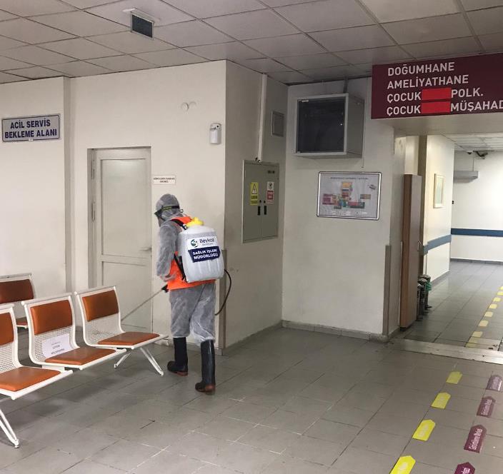 Beykoz'da Koronavirüs Mücadelesi Hız Kesmiyor