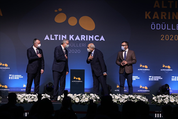 Ardıç Sofrası'na Altın Karınca Çevre Ödülü