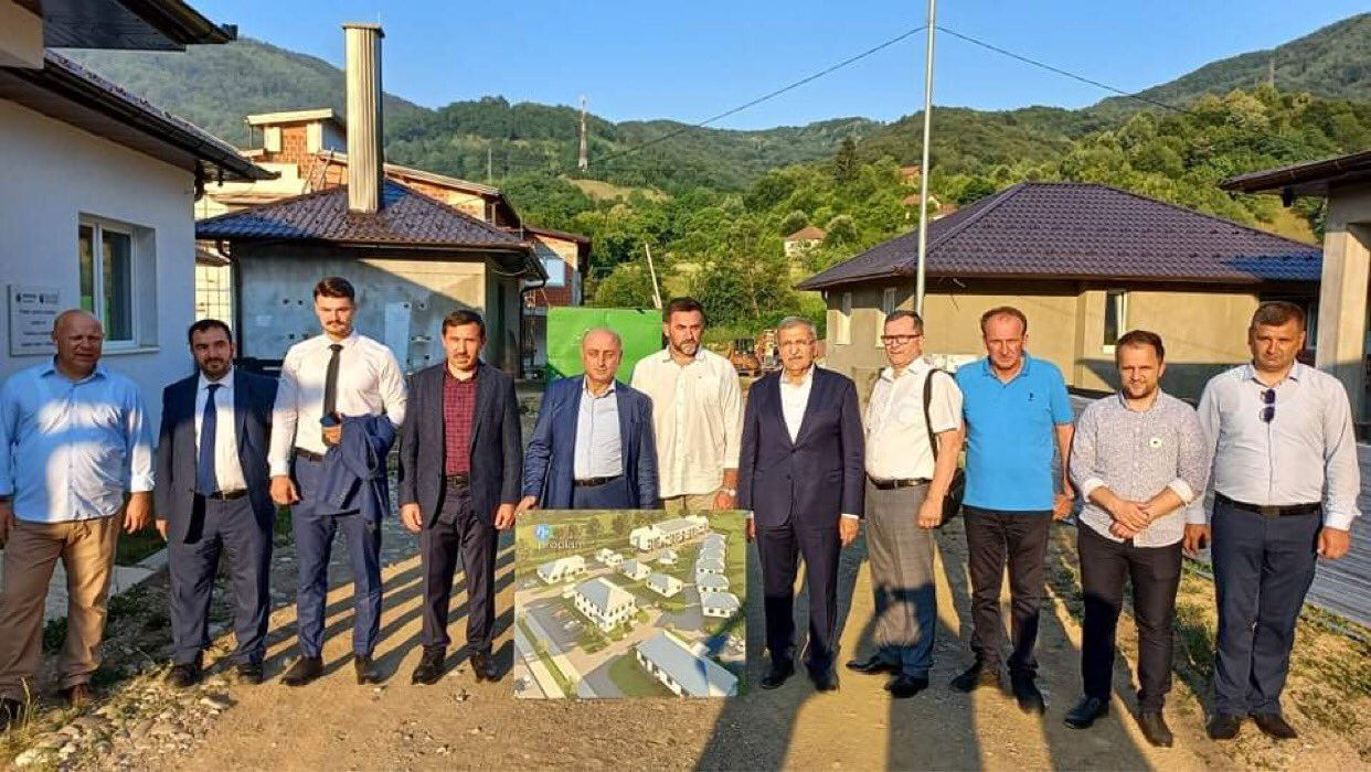 Beykoz'dan Srebrenitsa Anneleri'ne Kardeşlik Evi