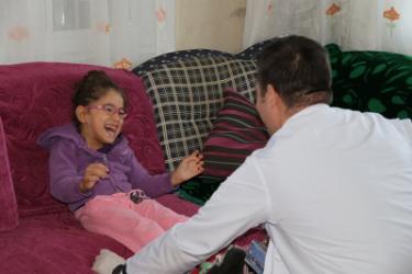 Beykoz'da Serebral Palsi'ye Evde Fizyoterapi Desteği