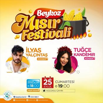 """Tarihi Küçüksu Çayırı'nda """"Beykoz Mısır Festivali"""" Başlıyor"""