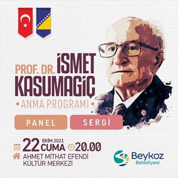 Bosna Kahramanlarından İsmet Kasumagiç Beykoz'da Anılıyor