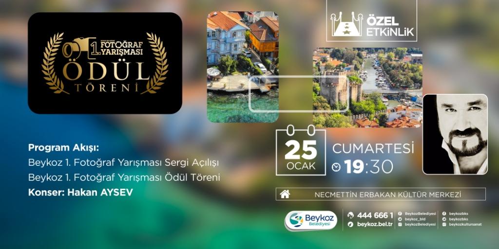 """""""Beykoz Belediyesi 1. Fotoğraf Yarışması""""nda Ödüller Sahiplerine Kavuşuyor"""