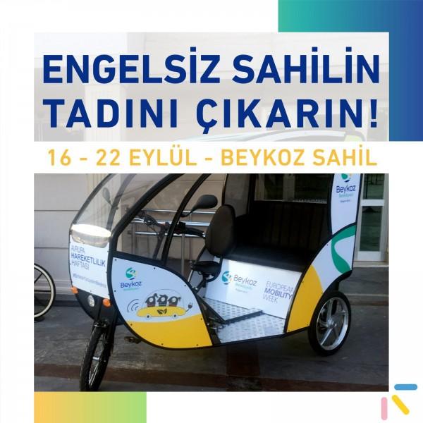 BEYKOZ SAHİL YOLU'NDA OTOMOBİLSİZ PAZAR